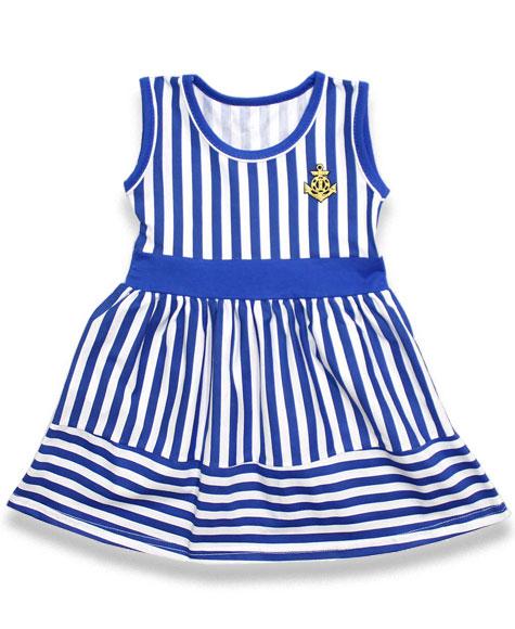 29ad389b9f3 Платье Якорь морское для девочек