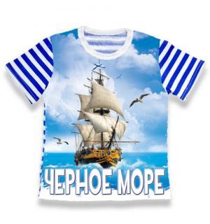детская тельняшка Черное море Парусник, детская футболка тельняшка, футболка тельняшка детская купить, футболка тельняшка детская ВДВ, футболка тельняшка детская оптом, футболка тельняшка детская опт, детская футболка тельняшка купить в Крыму