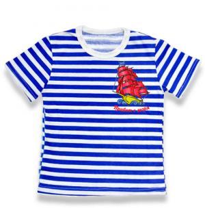 детская тельняшка Парусник Привет с моря вышивка, детская футболка тельняшка, футболка тельняшка детская купить, футболка тельняшка детская ВДВ, футболка тельняшка детская оптом, футболка тельняшка детская опт, детская футболка тельняшка купить в Крыму