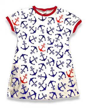 платье, якорь, подросток, морское, купить, опт, оптом, Крым, в Крыму, детская платье из Крыма, детская туника тельняшка,  платье тельняшка купить в Крыму, платье тельняшка для девочек, платье тельняшка детское купить, полосатое платье для девочек купить, платье тельняшка детское оптом